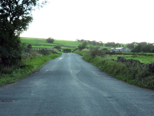 Burnley Road heading to Nelson