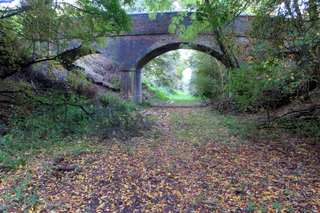 Bridge over the dismantled railway