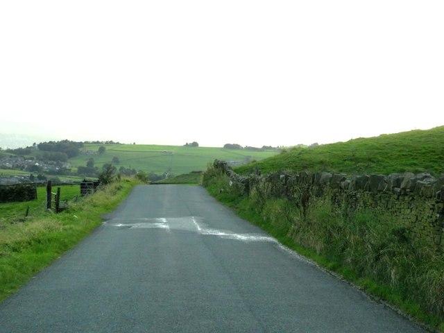 Shelfield Lane to Nelson