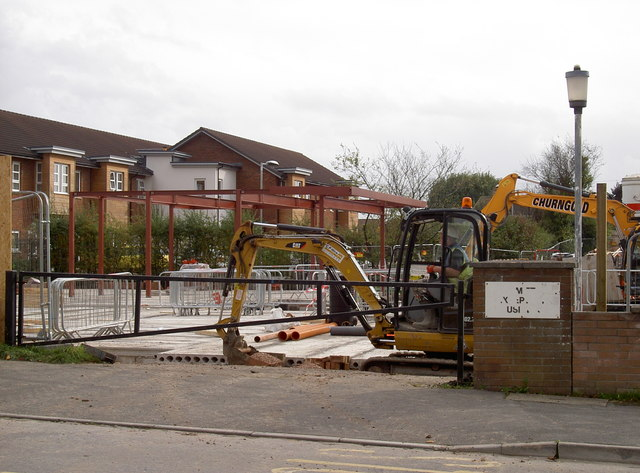 The first steelwork