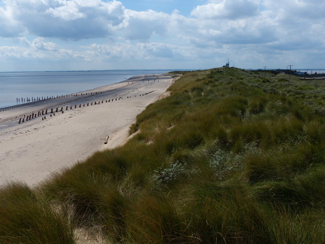 The beach at Spurn Point