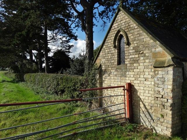 On the edge of Barrow Cemetery