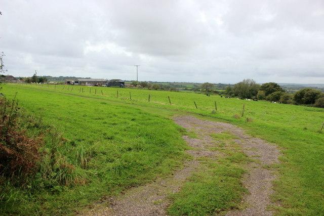 Entrance to Curlew Farm Caravan Site