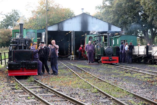 Leighton Buzzard Railway - Page's Park yard
