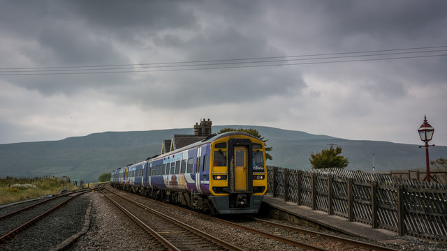 Departing Ribblehead for Leeds