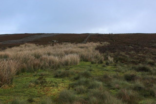 Boggy Moor near Goodwell Seat