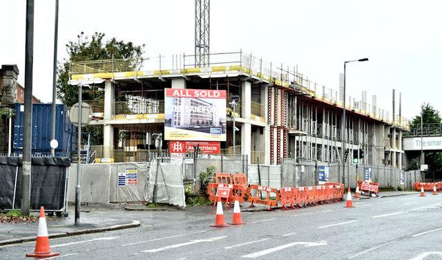 The Sandford site, Belfast - October 2017(1)