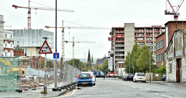Gt Patrick Street, Belfast (October 2017)