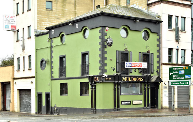 Muldoons Bar, Belfast (October 2017)