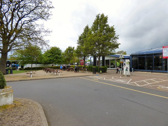 Warwick Services Southbound