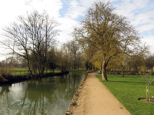 The River Cherwell by the Botanical Garden