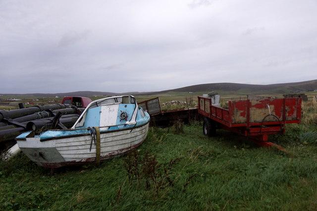 Vehicles at Clibberswick