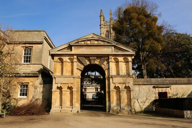 The Danby Gateway in the Botanic Garden