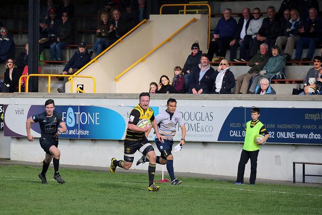 Melrose versus Currie at the Greenyards, Melrose