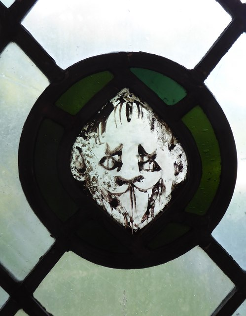 Church of St James the Great, East Malling: stained-glass fragment (2)