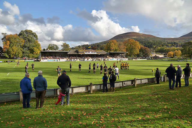 Melrose Rugby Football Ground at the Greenyards, Melrose