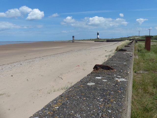 Beach near the Spurn Head Lifeboat Station