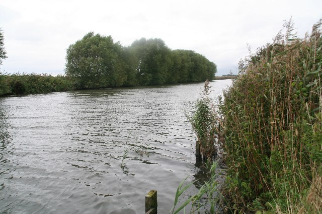New River Ancholme at the end of Bonby Carr Lane
