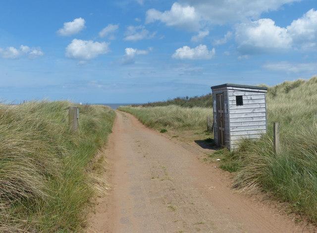 High Tide Shelter at the Spurn National Nature Reserve