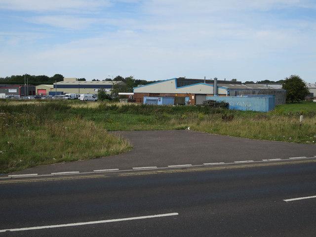 Vacant plot, Hardwick Industrial Estate