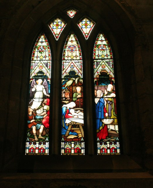Stained glass window, St Duthus Collegiate Church, Tain