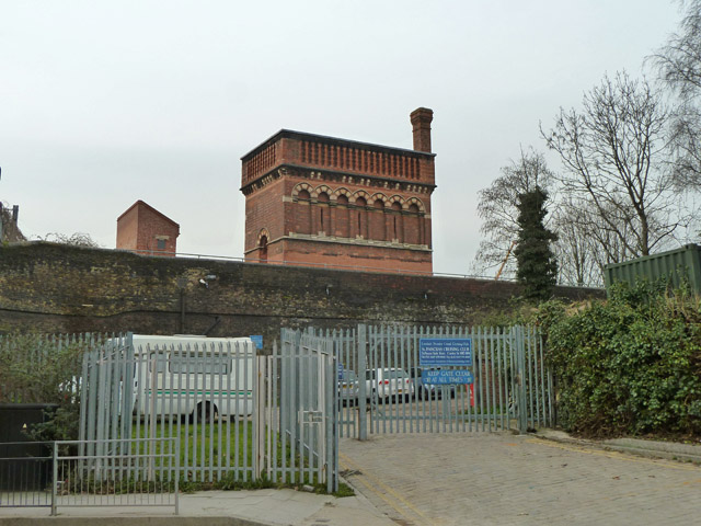 Railway water tower, St. Pancras