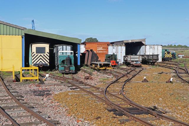 Leighton Buzzard Railway - engine sheds