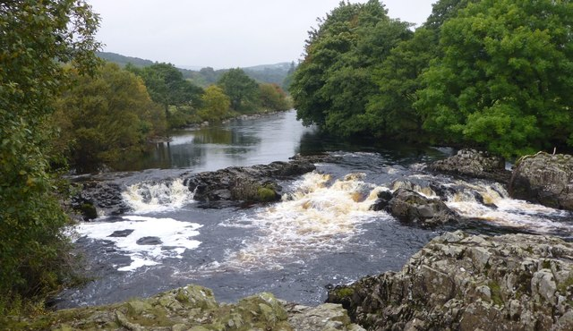 Waterfall on the River Tees