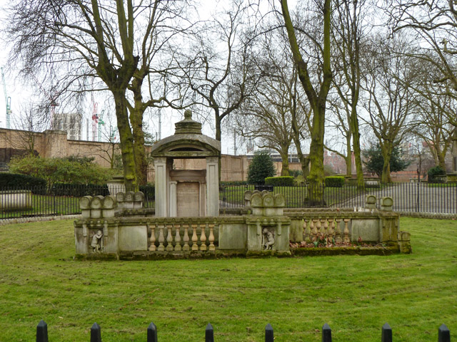 Tomb of Sir John Soane, his wife and son