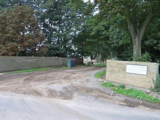 Entrance to Gores Farm
