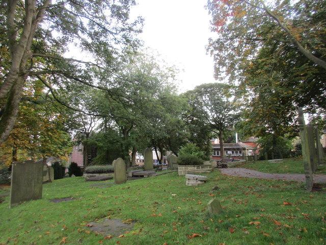 The churchyard (St. John's Gardens), Penistone