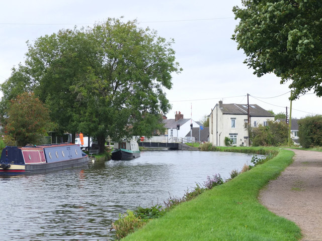 Leeds - Liverpool Canal near New Lane Bridge, Burscough