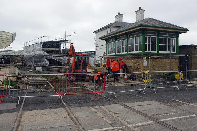 Folkestone Harbour Station restoration