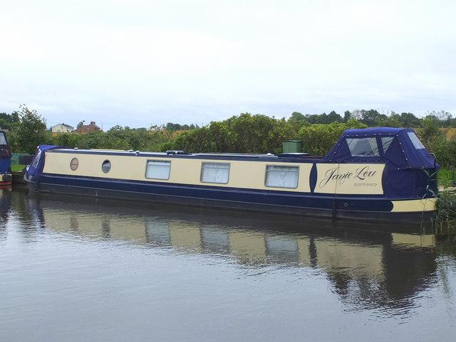 Janie Lou canal boat