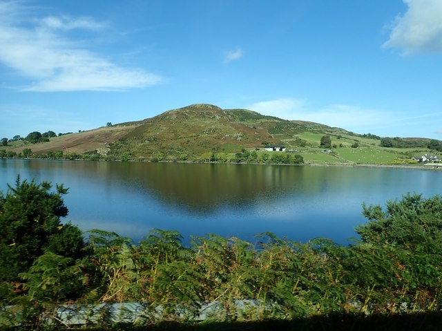 Slievenlargy viewed across Lough Island Reavy