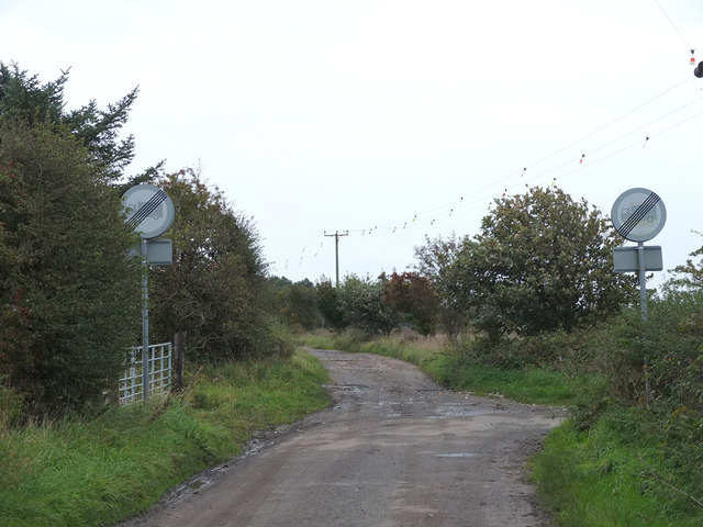 Junction of Martin Lane and Rabbit Lane