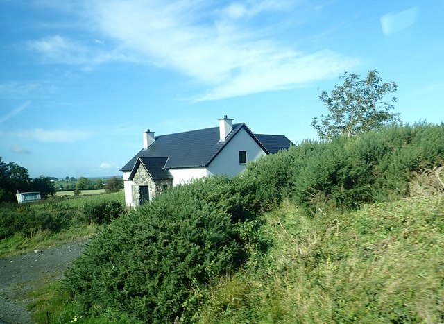 New built house on the Dublin Road, Kilcoo