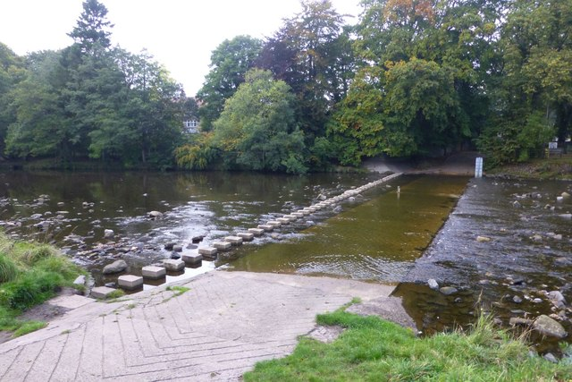 Stepping stones and ford