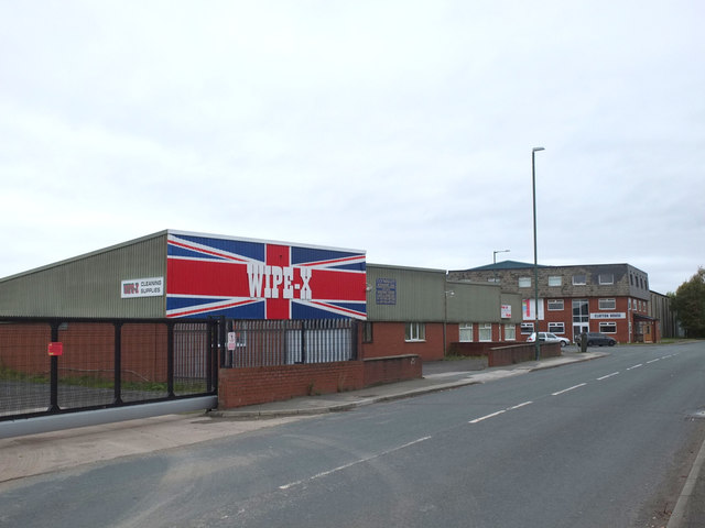 Wipe X, Burscough Industrial Estate
