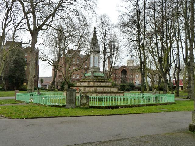 The Burdett-Coutts Memorial Sundial
