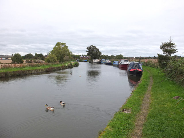 The Leeds - Liverpool Canal West of Burscough