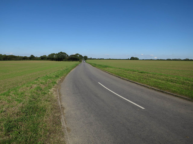 Melton Road from Wymondham