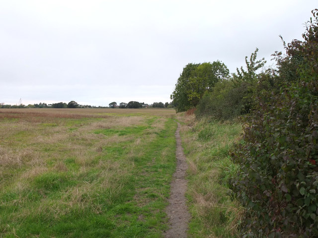 Footpath from Harding Road to the Leeds - Liverpool Canal