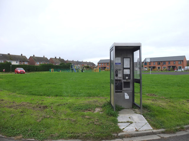 Phone Box on Furnical Drive and Pickles Drive, Burscough