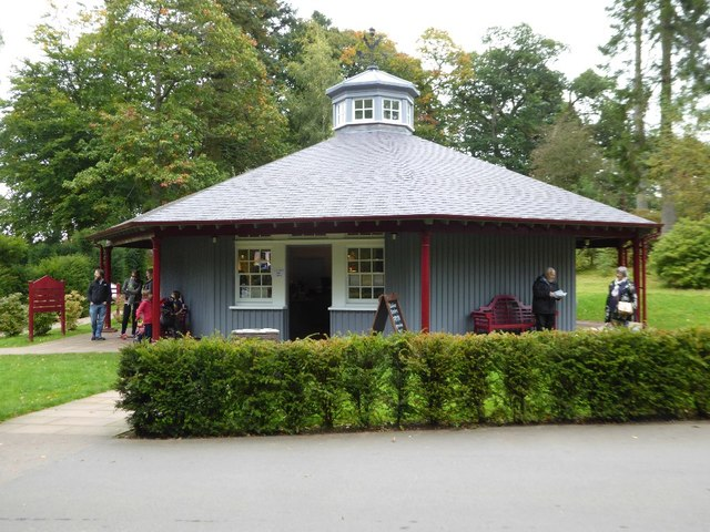 Ticket office and shop, Dumfries House