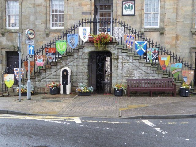 Coats of Arms on the Tolbooth