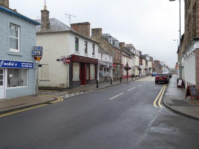 High Street, Sanquhar