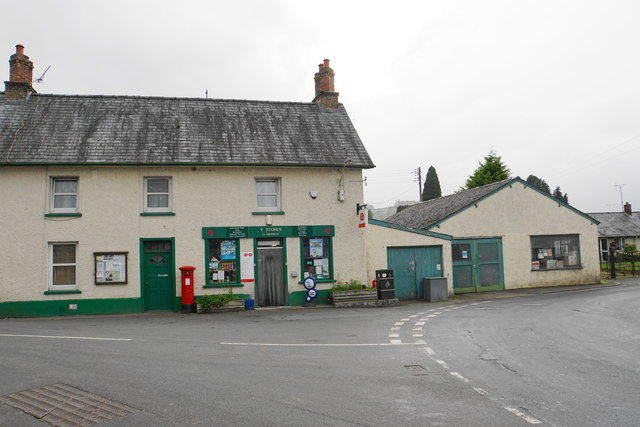 Village shop and post office
