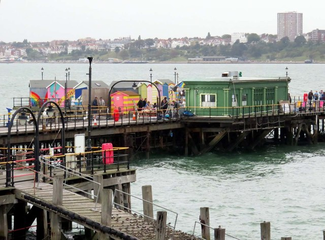 Buildings on Southend Pier