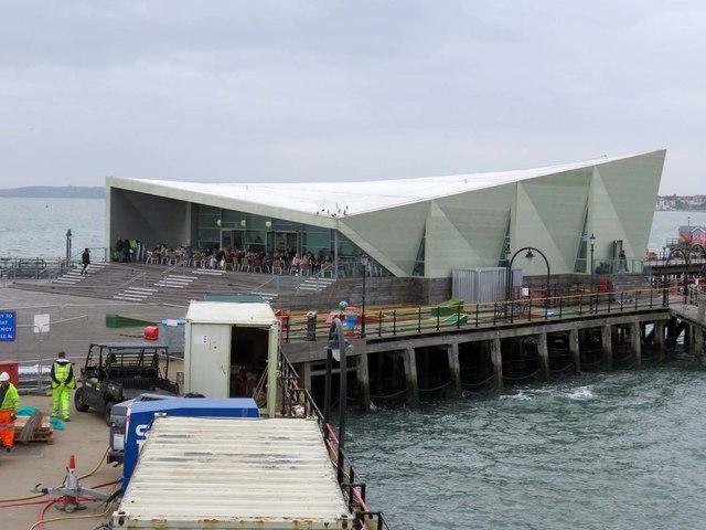 Salt Cafe on Southend Pier